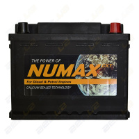 Аккумулятор Numax 60Ah 500A (п.п) д242ш173в190