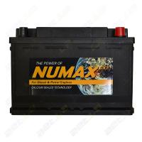 Аккумулятор Numax 74Ah 700A (п.п) д276ш173в190