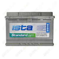 Аккумулятор Ista Standard 77Ah  (о.п)